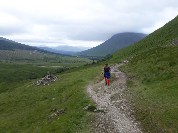60miles into the 95 mile West Highland Way Race in June 2018.