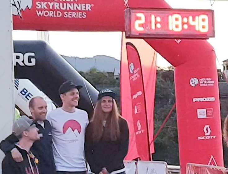 Team Billingen X-trail 2:nd place in Madeira Skyrace 2019