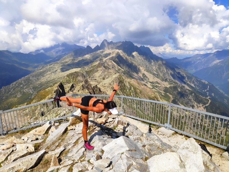 Chamonix – Being at the top gives me wings to fly like a bird.