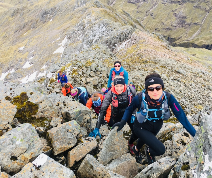 Girls on Hills courses empower women through mountain running and learning new skills.