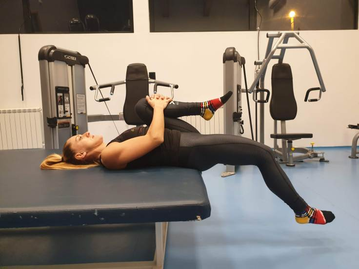 Thomas test for hip extension